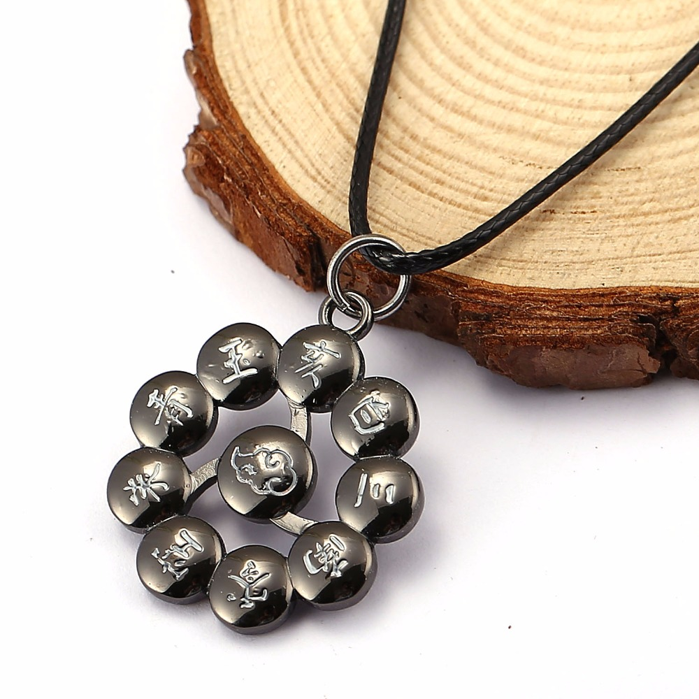 HSIC Косплей 3 Наруто Ожерелье Chocker Ожерелье Для Любителей Аниме Акацуки Xmas Подарков Воротник HC11558