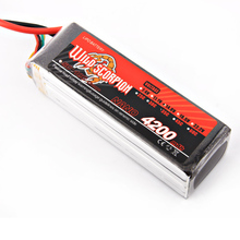 1pcs Wild Scorpion RC 14.8V 4200mAh 35C 4S Lipo Battery For RC Quadcopter Drone Helicopter Car Airplane