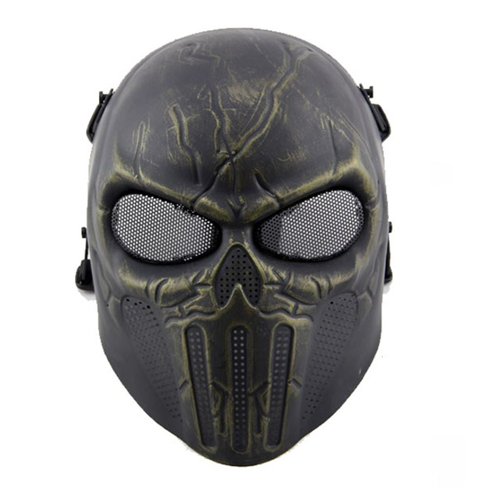 Halloween Party Mask Plastic Ear Protective Mask
