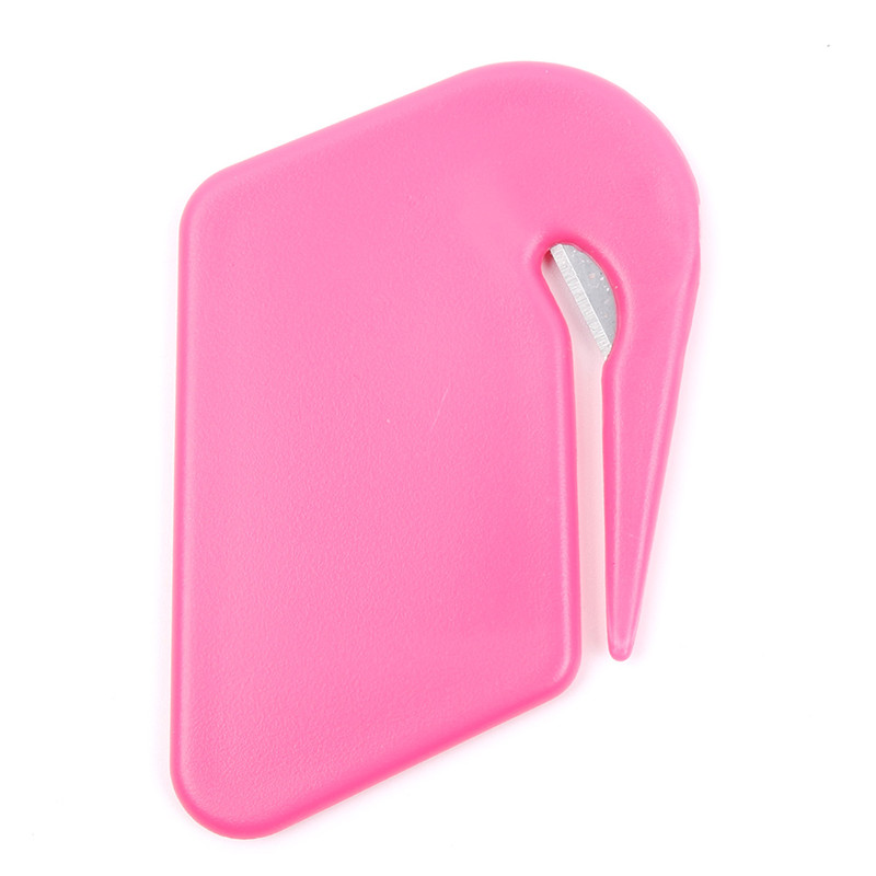 Plastic Mini Letter Knife Letter Mail Envelope Opener Safety Paper Guarded Cutter Blade Office Equipment Cutting Supplies 4