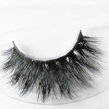 HEXUAN Handmade Water Mink False Eyelashes Cross Messy Dense Natural Eye Lashes Stage Makeup False Eyelashes недорого