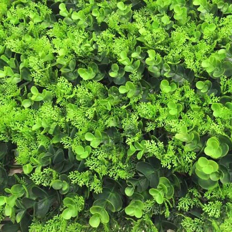 2017 fleurs artificielles 50x50 cm gazon artificiel pelouse plastique Simulation plante paysage étage décoration ornement Aquarium
