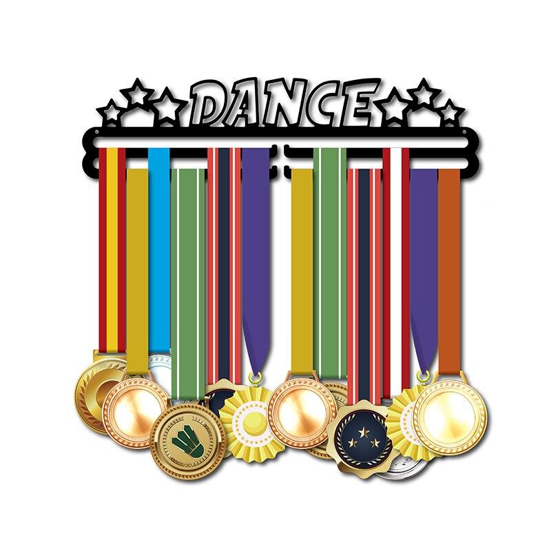 DDJOPH médaille cintre pour danse Sport médaille titulaire danseur médaille rack tenir 28 + médailles