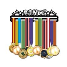 DDJOPH madalya askı dans Spor madalya sahibi Dansçı madalya rafı tutun 28 + madalya