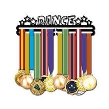 DDJOPH מדליית קולב לריקודים ספורט מדליית מחזיק רקדנית מדליית מתלה להחזיק 28 + מדליות