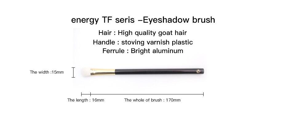 conjunto escova de cabelo cabra compõem escovas