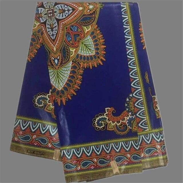ee27e2b809bb28 Ausgezeichnete königsblau design java wachs tuch Afrikanische baumwolle  echtwachsdruckgewebe ankara material WF619 (6 yards