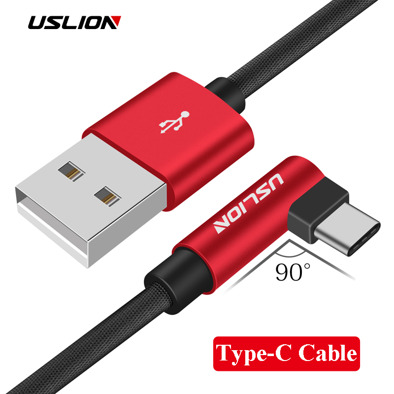 Usb Type C Fast Charging Tipe C Cable Type-c Data High Quality Nylon Copper Mobile Phone Data 2a Charger For Xiaomi Mi6 Huawei Cellphones & Telecommunications
