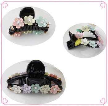 Fine Cute Flower Rhinestones Hairpins Hair Accessories