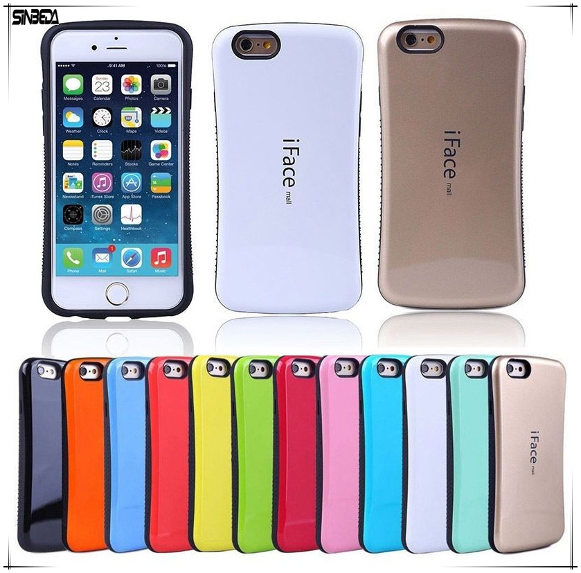 749a38b1320425 Sinbeda New iFace mall Case Gel Shock Absorbing Bumper PC+TPU Back Cover  Case Fashion Mobile For iphone 4 4S 5G 5S 5C Phone Case-in Fitted Cases  from ...