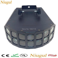 Free Shipping Led Disco Double Butterfly Light For DJ Club Party Disco Led Effect Light Stage