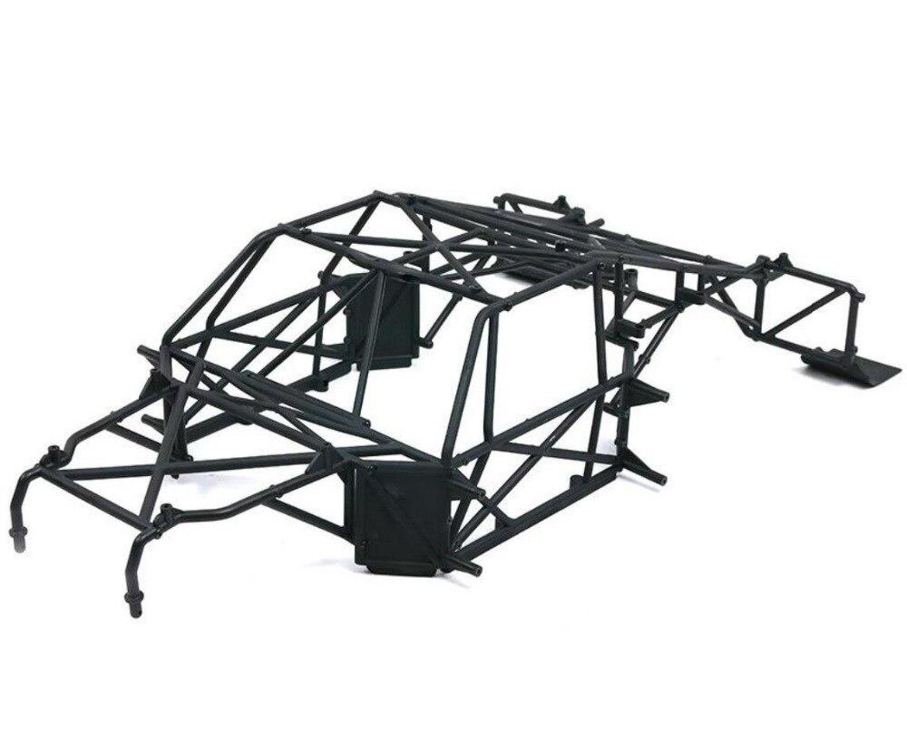 أسود لفة قفص ل Losi 5ive t روفان LT DTT 1/5 rc سيارة الغاز كيت النسخة-في قطع غيار وملحقات من الألعاب والهوايات على  مجموعة 1