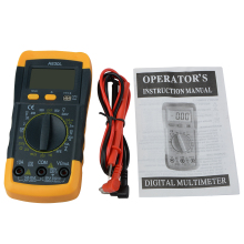 LCD Electric Handheld Digital Multimeter A830L AC DC Ammeter Voltmeter Tester Meter Digital Multimetro Ammeter Multitester цена 2017