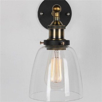 Industrial Vintage Wall Lamp  With Parabolic Shade for dinning living room