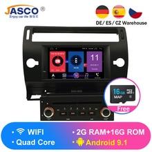 Android 9.0 Car DVD Player GPS Glonass Navi per Citroen C4 C-Triomphe C-Quatre 2005 2006 2007 2008 2009 Radio Audio Stereo