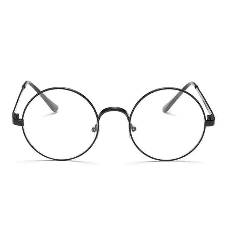ab8221010a67 ... Hot Retro Oversized Korean Round Glasses Frame Clear Lens Women Men  Gold Eyeglass Optic Frame Eyewear ...