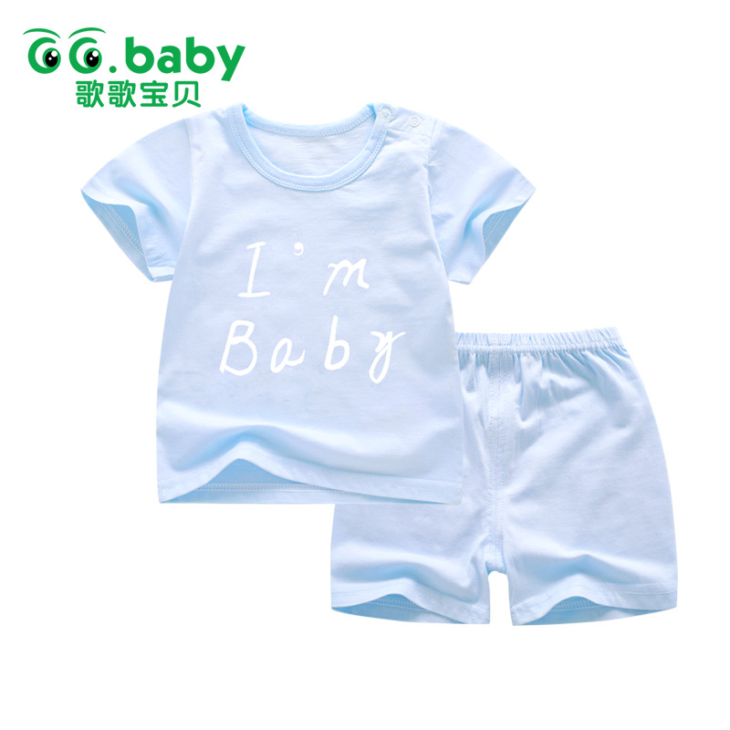 Retail Baby Boy Outfits Set Newborn Summer Short Sleeve Elastic Short Clothes Cotton Cute Animal Lion Baby Suit For Clothing Set 3pcs set newborn infant baby boy girl clothes 2017 summer short sleeve leopard floral romper bodysuit headband shoes outfits