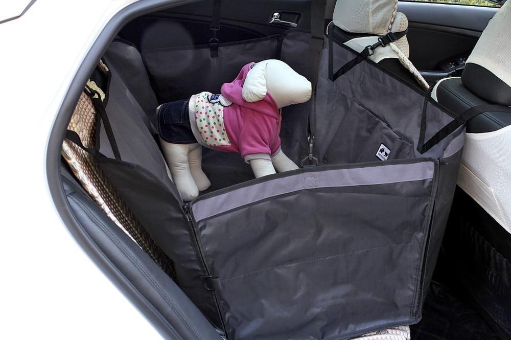 Free Shipping 2015 Pet Dog Cat Rear Back Seat Car Auto