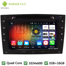 Quad Core Android 5.1.1 7INCH HD 1024*600 DAB+ WIFI 3G FM Car DVD Player Radio Audio PC Stereo For Renault Megane 2 II 2003-2010