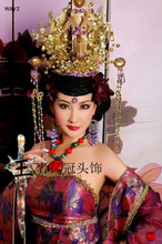 Top Quality Chinese Ancient Empress Hair Tiaras Female Costume Accessory
