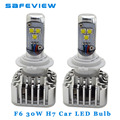 Car-styling Turbo LED lamp H7 6000K for CREE LED Chips 3600LM 30W