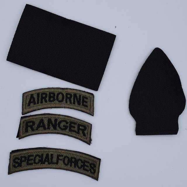 45298f94cc7 5pcs Embroidery America Flag Patch Cloth Tactical Special Forces Patch  Airborne Morale Armband Army Hook And