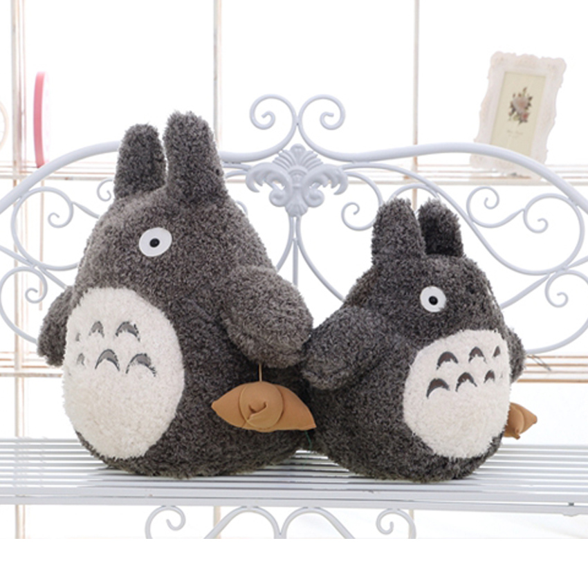 22-70cm Cartoon Lovely Style Plush Anime Totoro Toys Soft Stuffed Baby Doll Cute Tv Figure Sofa Bedroom Kid Birthday Gift