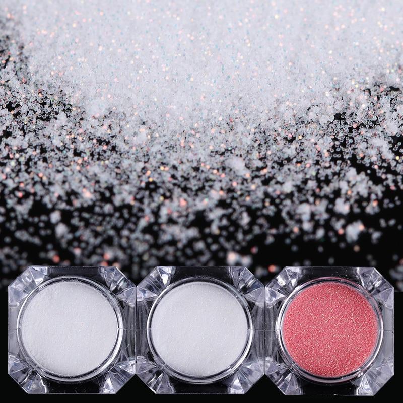 1.5g kaméleon sellő körömpor króm pigment manikűr csillogó - Köröm művészet - Fénykép 5