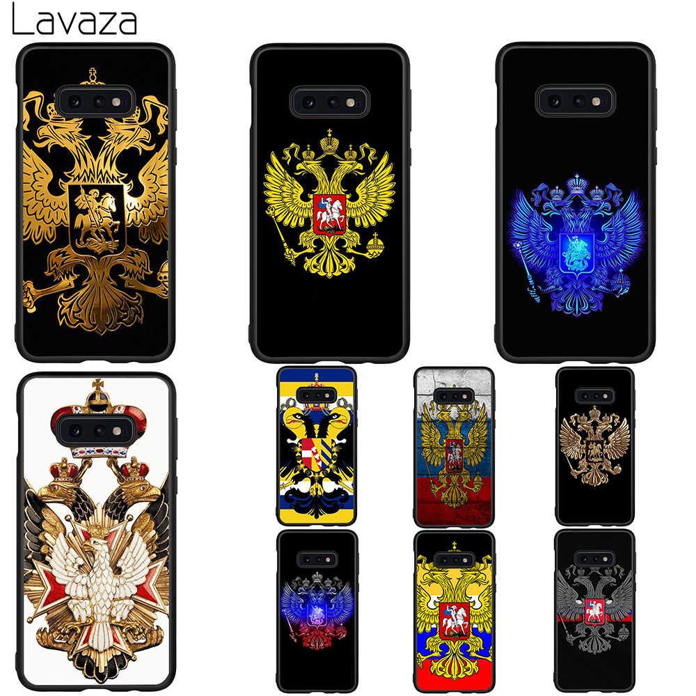 Lavaza ロシア国旗イーグルソフトケース用 A3 A5 2016 2017 A6 プラス A7 A8 A9 J6 2018 A10 30 40 50 70
