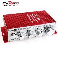 Envío Gratis Kinter MA-180 USB Mini Amplificador de Audio Del Coche Del Barco-2CH Stereo | Amplificador HI-FI Amplificador: Rojo 12 V Automático De Energía amplificador