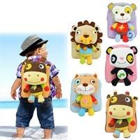 Infant Cute Baby Kids Snack Backpack Preschool Children Plush Nursery School Bags Girls Boys Animal Figure