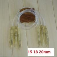 Khuyến mãi 15 mét 18 mét 20 mét 3 cái Đặt Dày Pha Lê Thông Tư Knitting Needles Set Chunky Sợi Kim
