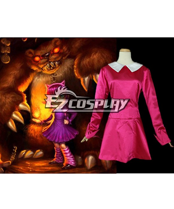 LOL Annie Costume Cosplay peau originale E001