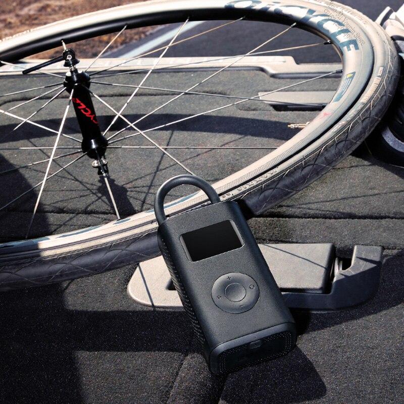 Image 5 - New Original Xiaomi Mijia Portable Smart Digital Tire Pressure  Detection Electric Inflator Pump for Bike Motorcycle Car FootballSmart  Remote Control