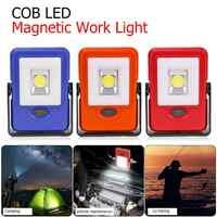 Portable COB LED Magnetic Work Light Emergency Inspection Lamp Flashlight