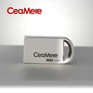 Image 3 - Ceamere CD04  USB Mini Flash Drive 8GB/16GB/32GB/64GB Pen Drive Metal Pendrive USB 2.0 Flash Drive Memory stick USB disk 1GB/2GB