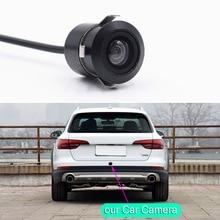 Новый мини Классический Широкий 140 Градусов CCD Водонепроницаемая Автомобильная Камера Заднего вида Ночного Видения 18.5 мм Отверстие Парковка Задним Ходом Помощи