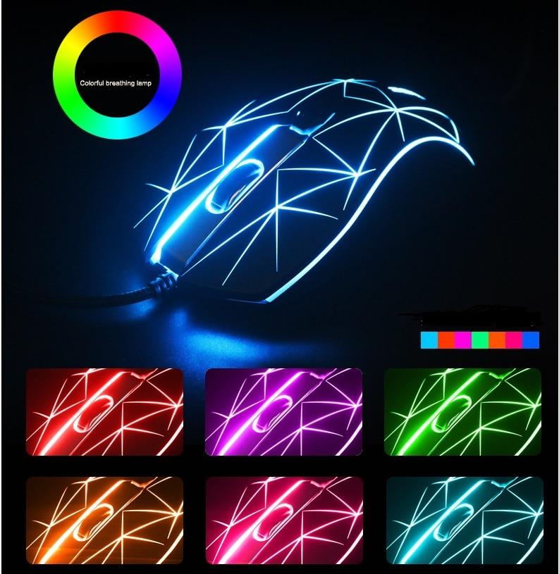 Metoo originais Xiaopaozhuangjia Wired Gaming Mouse Óptico