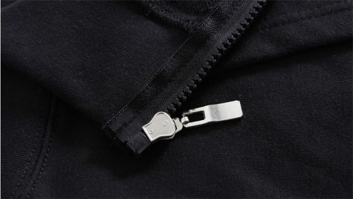 Sweat 2 Noir Veste 2 Polaire Hardrock Métal Hoodies Conceptions Survêtement Zipper 1 Chevalier Shell Rock Sournois Sweat Punk shirt ppU4wqP