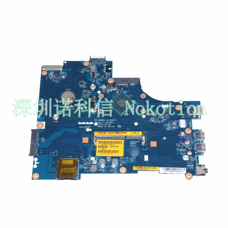 ФОТО laptop motherboard for Dell Inspiron 15-3531 mainboard Y3PXH 0Y3PXH CN-0Y3PXH LA-B481P N3530 CPU NEW