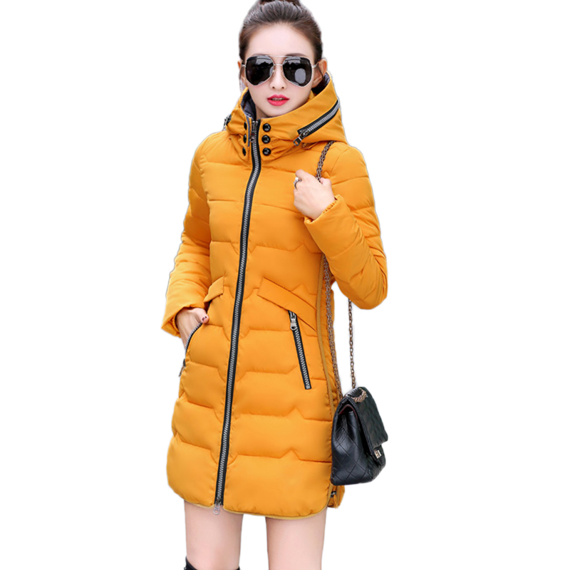 Female 7XL Feather Padded parka PIus size Hooded Thick warm Down Cotton Jacket Women Long section Winter Coat 2017 New Outerwear rainbo brand free shipping wall power socket new outlet france standard crystal glass panel ac110 250v 16a wall socket a18fw b