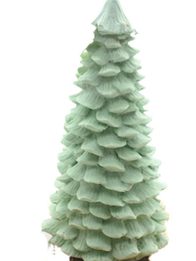 3D Christmas tree candle silicone mold pine tree aromatherapy wax candle  mold - 3D Christmas Tree Candle Silicone Mold Pine Tree Aromatherapy Wax