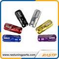 Rastp-aleación de aluminio 20 unids rendimiento d1 spec racing tuercas de las ruedas de tornillo l = 50mm para honda toyota nissian ls-ln006
