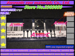 Image 3 - Aoweziic  2017+ 100% new imported original GP4063D IRGP4063D IRGP4063DPBF TO 247 ultra fast recovery diode 600V 96A IGBT