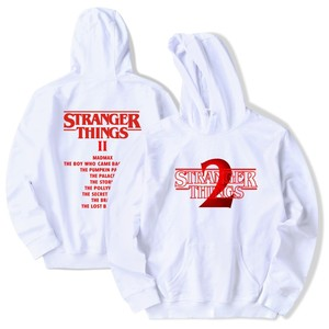 Image 3 - Estranho coisas hoodie 2019 novo quente tv américa moletom millie bobby brown hoody homens hip hop casual moda hoodies