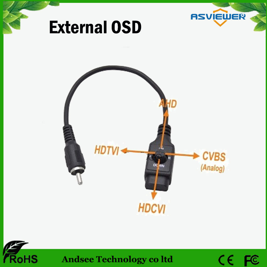 External OSD Cable For Camera To Change AHD/TVI/CVI/CVBS Model And Enter OSD Menu