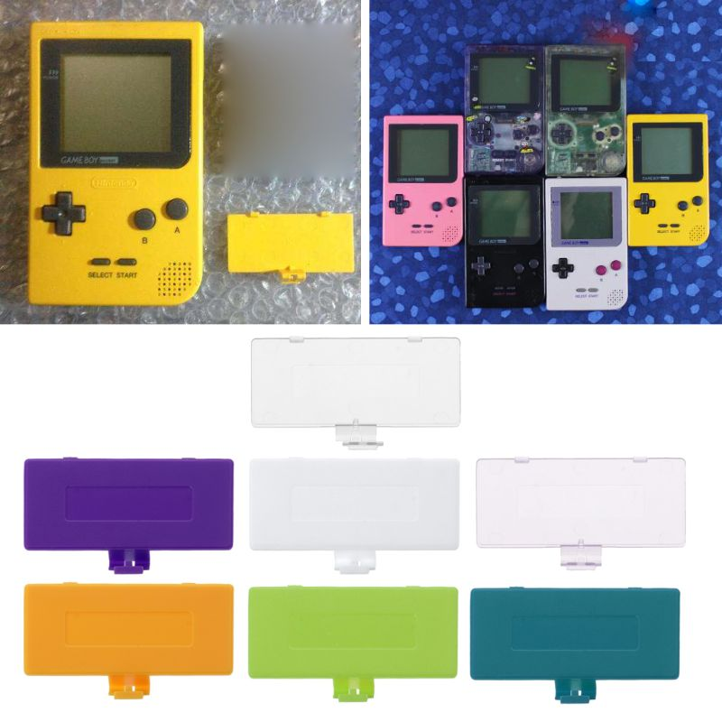 1PC Replacement Battery Cover Lid for Game Boy Gameboy GBP Battery Door