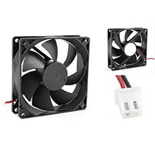 PROMOTION! 92mm x 25mm DC 12V 2Pin 65.01CFM Computer Case CPU Cooler Cooling Fan(China)