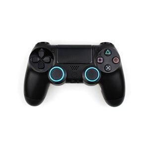 Image 5 - 4 stücke Silikon Analog Thumb Stick Griffe Abdeckung Für PS4 Controller Thumbstick Caps Für PS4 Pro Gamepad Für Xbox One für Xbox 360