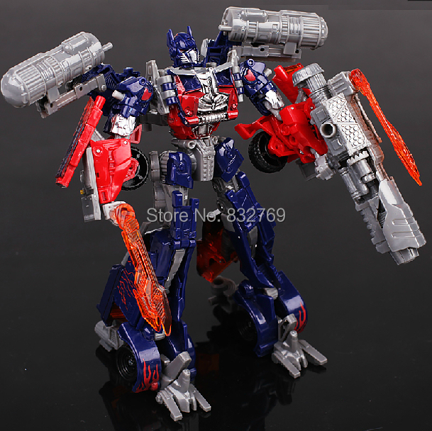 hot super hero transformation 4 optimus prime deformation